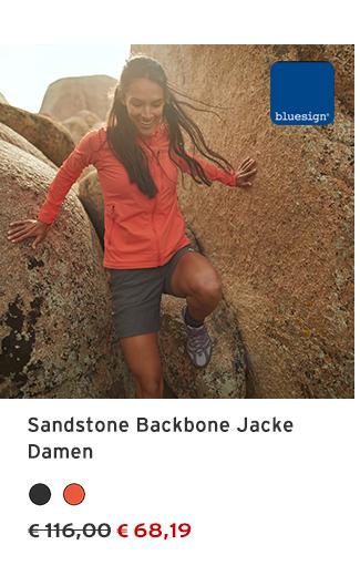 Sandstone Backbone Jacke Damen
